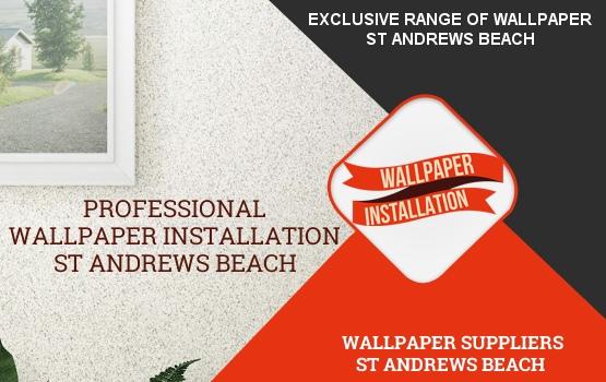 Wallpaper Installation St Andrews Beach
