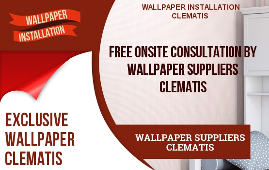 Wallpaper Suppliers Clematis