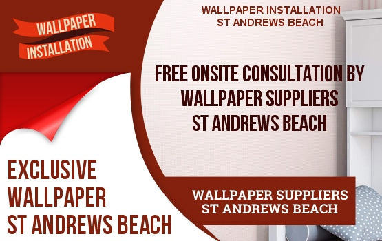 Wallpaper Suppliers St Andrews Beach