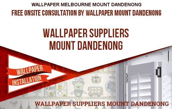 Wallpaper Suppliers Mount Dandenong